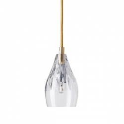 Ebb & Flow Gayle crystal lamp, single pendant