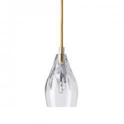 Ebb & Flow Gayle crystal lamp, single pendant