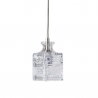 Ebb & Flow Jeeves crystal lamp, single pendant