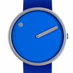 Picto Watch Cobalt Blue/Stainless Steel