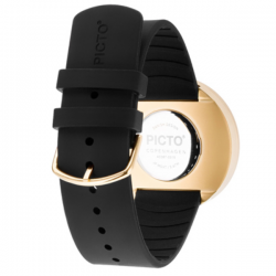 Picto Watch Black/Gold