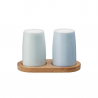 Stelton Emma Salt and Pepper Blue