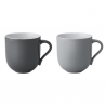 Stelton Emma Mugs, 2 Pieces Grey