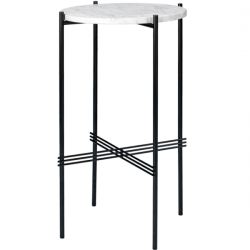 Gubi TS Console Round Marble Top Table