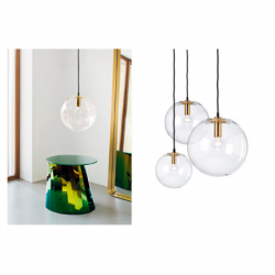 ClassiCon Selene Suspension Lamp Brass
