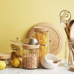 Rosendahl Grand Cru Storage Jars with Oak Lid