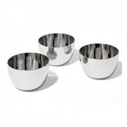 Alessi Mami Stainless Steel Bowl Set