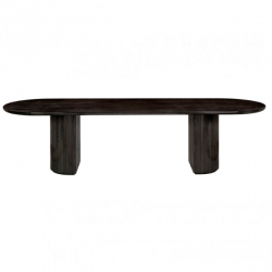Gubi Moon Dining table Elliptical