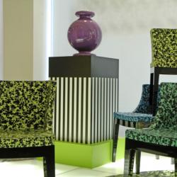 Kartell  Mademoiselle Chair Textile design by Nathalie du Pasquier