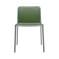 Kartell Audrey Soft Chair Textile design by Ettore Sottsass