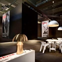 Oluce Atollo 233/Or Table Lamp