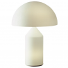 Oluce Atollo 235 Opal Glass Table Lamp