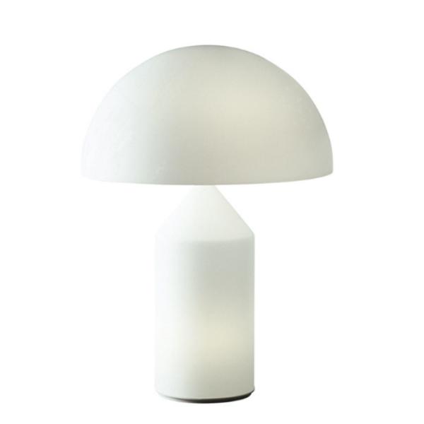 Oluce Atollo 237 Opal Glass Table Lamp