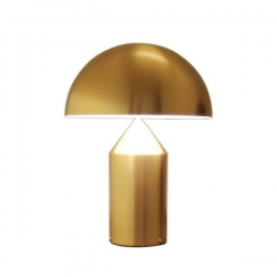 Oluce Atollo 238 Gold Table Lamp