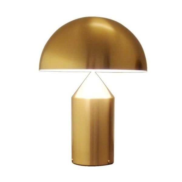 Oluce Atollo Gold Table Lamp