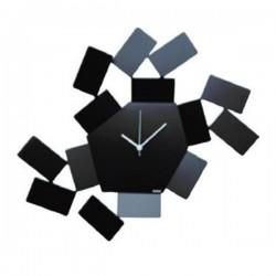 Alessi La Stanza Dello Scirocco Clock Black