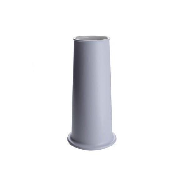 Alessi Tonale Vase in Ceramic Blue