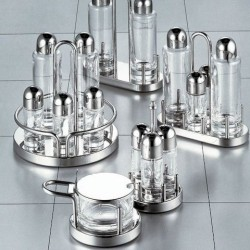 Alessi Ettore Sottsass Condiment Set