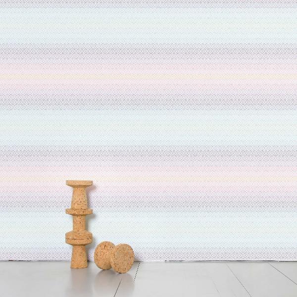 Domestic Optical grid Wallpaper
