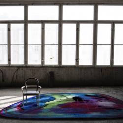 Moooi Scribble Black / Green / Blue Signature carpet