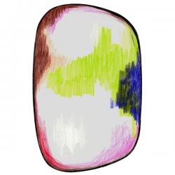 Moooi Scribble Green / Blue / Pink Signature carpet