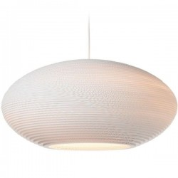 Graypants Disc Lamp Scraplights White