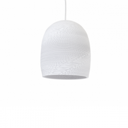 Graypants Bell Lamp White
