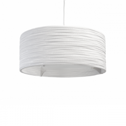 Graypants Drum Lamp Scraplights White