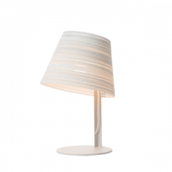 Graypants Tilt Table Lamp White