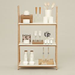 Normann Copenhagen One Step Up Bookcase Low