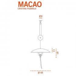 Carpyen Macao Suspension Lamp