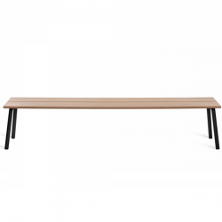 Emeco Run 4 Seat Bench