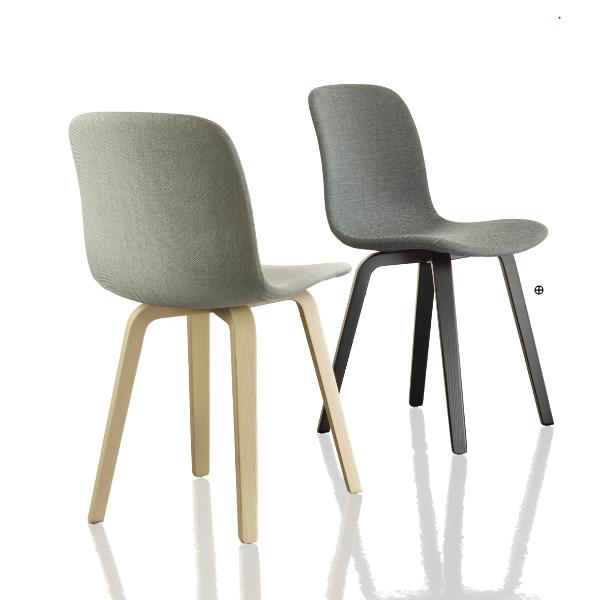 Magis Substance Chair Wooden Legs