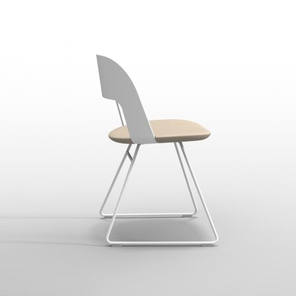 Lapalma Arco Chair Sled Base