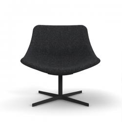 Lapalma Auki Lounge Chair Swivel Base