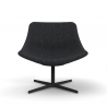 Lapalma Auki Lounge Chair Swivel Base
