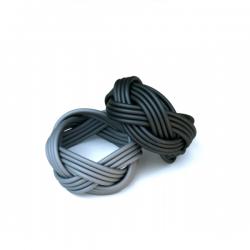 .Materia Design Nodo Marino Rubber Bracelet