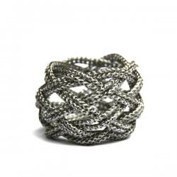 Materia Design Turbante Acciaio Bracelet