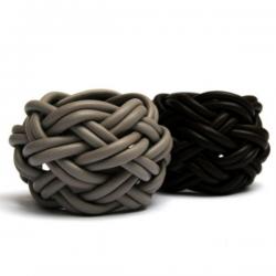 Materia Design Turbante Pelle Bracelet