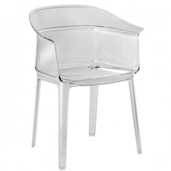 Kartell Papyrus Chair Crystal