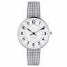 Arne Jacobsen Station Watch White Dial, Steel Mesh
