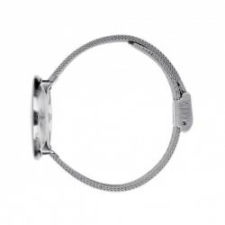 Arne Jacobsen Station Watch White Dial, Steel Mesh