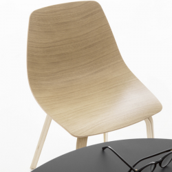 Lapalma Miunn Chair Wooden Legs