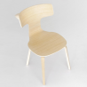 Lapalma Fedra Chair Wooden Legs