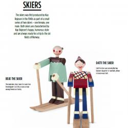 Kay Bojesen Boje The Skiers