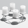 Georg Jensen Season Candle Holder Large