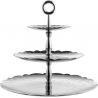 Alessi Dressed X- Mas Piered Cake Stand Stainles Steel