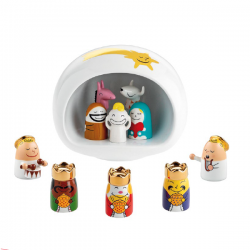 Alessi Presepe Group White
