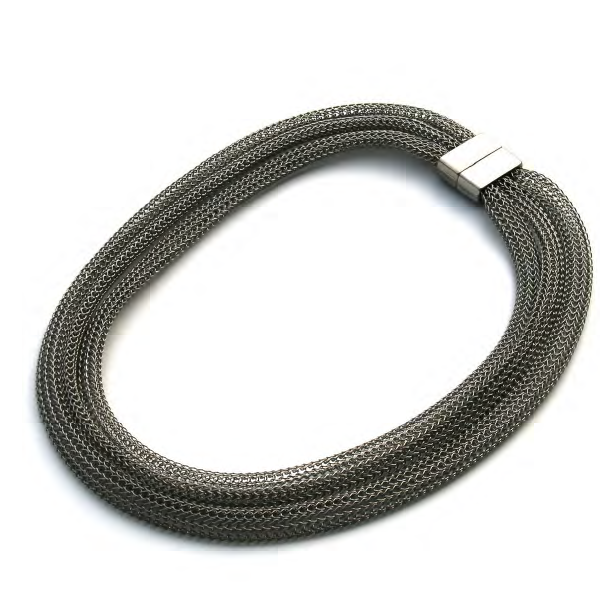 Materia Design Band 3 Fili Necklace