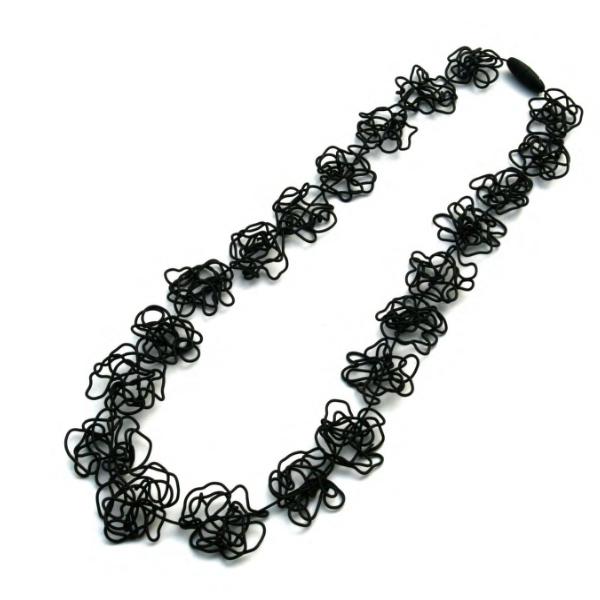 Materia Design Doodle Long Necklace